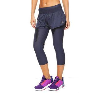 Adidas Techfit adipower Navy Short Over Legging SM